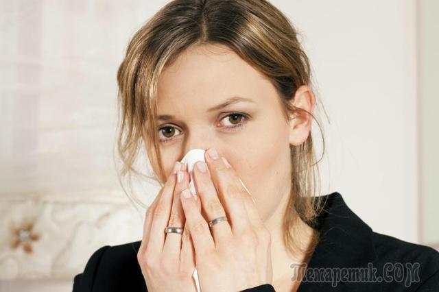Народные средства от насморка и заложенности носа - лечение взрослых