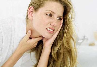 Чем снять отек горла - лечение опухшей гортани