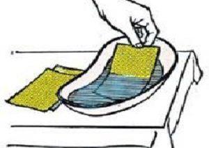 Горчичники при насморке – куда и как ставить
