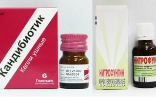 Противогрибковые ушные капли для людей – эффективные средства