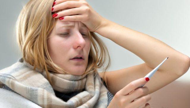 Кровь из носа при температуре у взрослых и детей