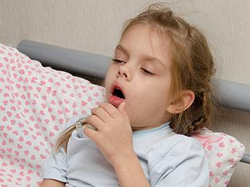 Редкий кашель у ребенка с температурой и без