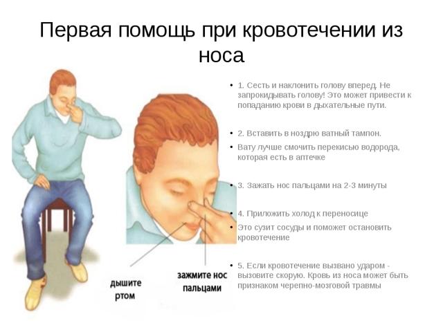 Почему у ребенка ночью идет и течет кровь из носа