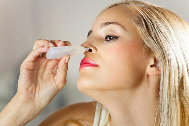 Капли в нос при гайморите с антибиотиком - название лекарств