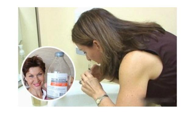 Физраствор хлорида натрия для промывания носа при насморке