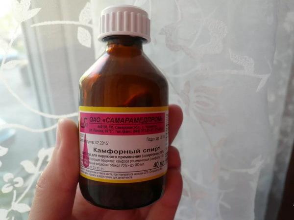 Камфорное масло и спирт при отите – особенности лечения