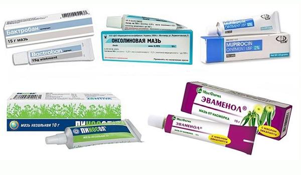 Противовирусные мази для носа - чем мазать от вирусов